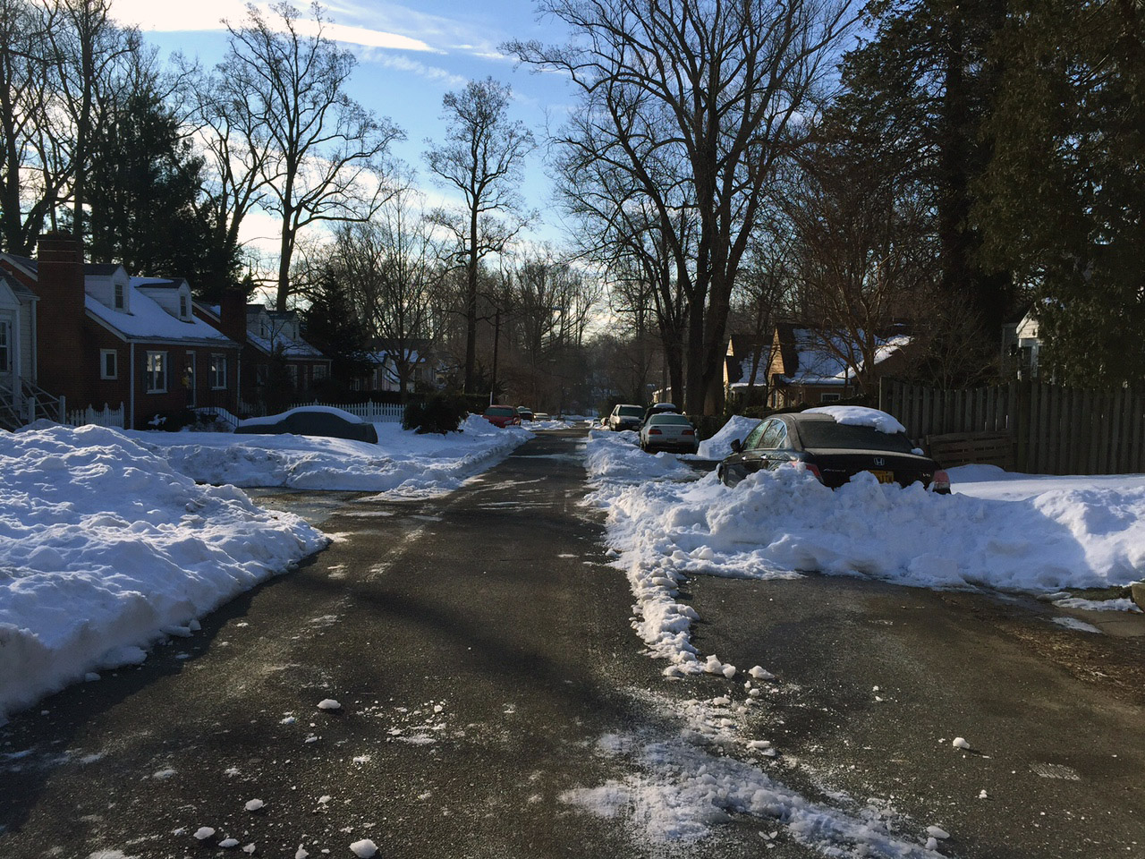 Road officials respond to complaints of poor snow clearance