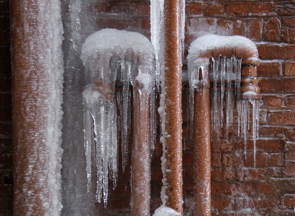 Bitter cold brings possibility of frozen pipes