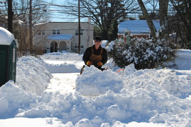Md. man has spent tens of thousands on snow gear to clear his street