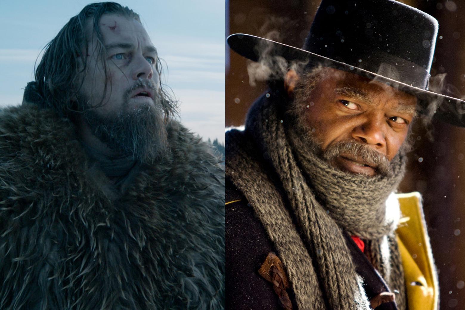'Revenant,' 'Hateful Eight' turn violent westerns into high art