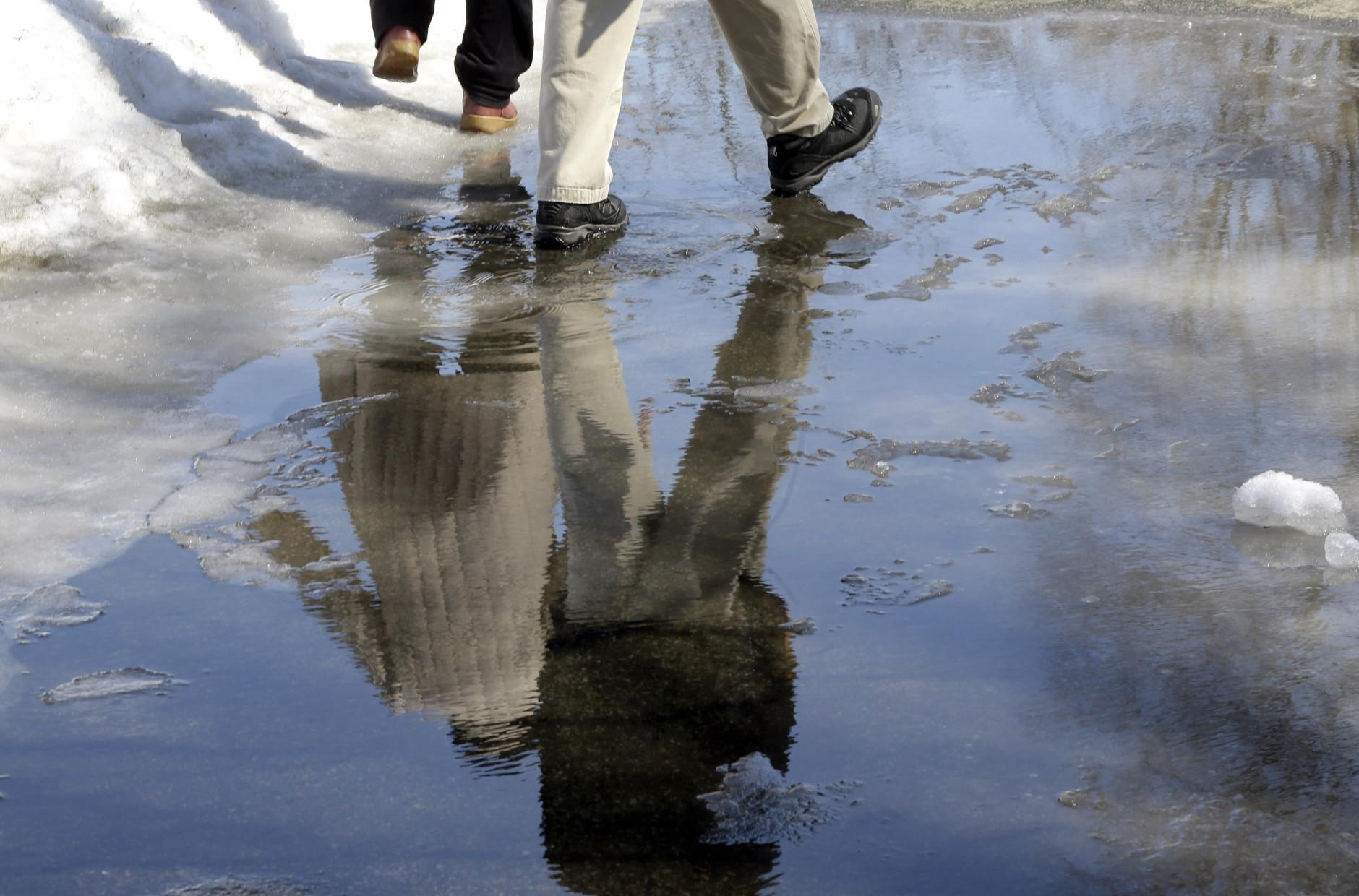 Warm-up, rain may lead to minor flooding