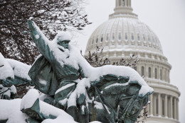 Help WTOP decide on a creative name for this weekend's winter storm. (AP Photo/J. Scott Applewhite)
