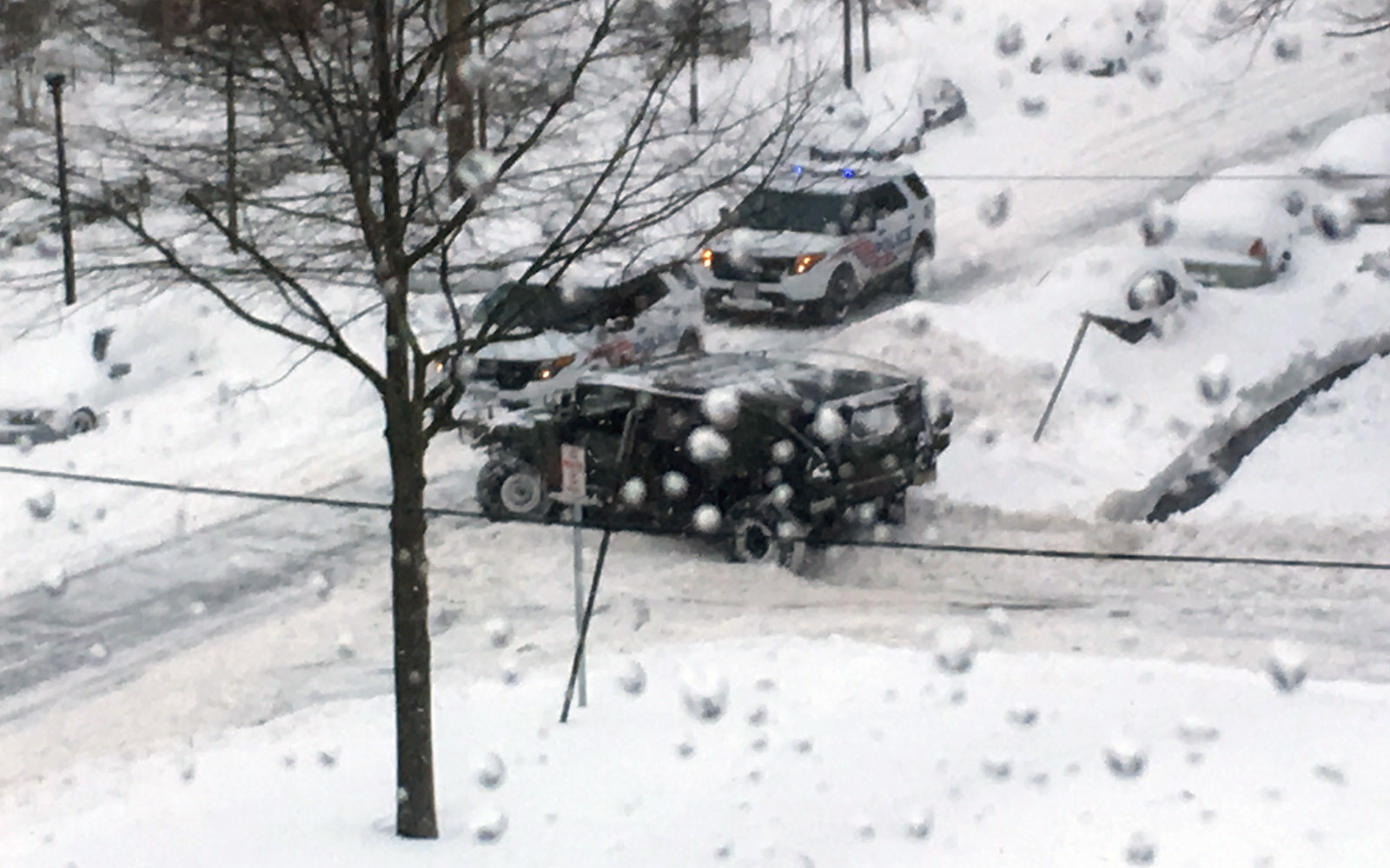 Storm still poses threat, cleanup to take days