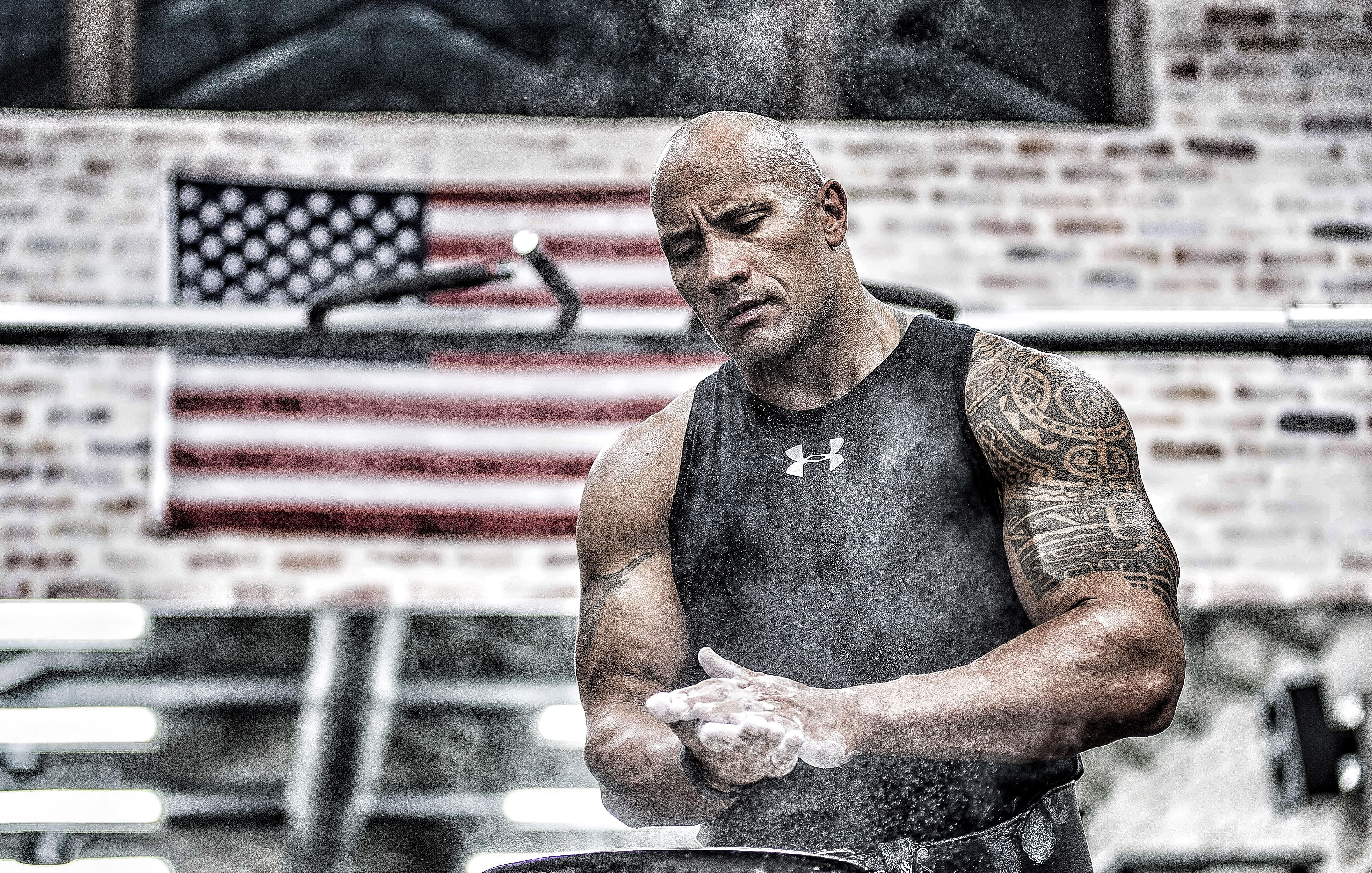 'The Rock' joins Under Armour team