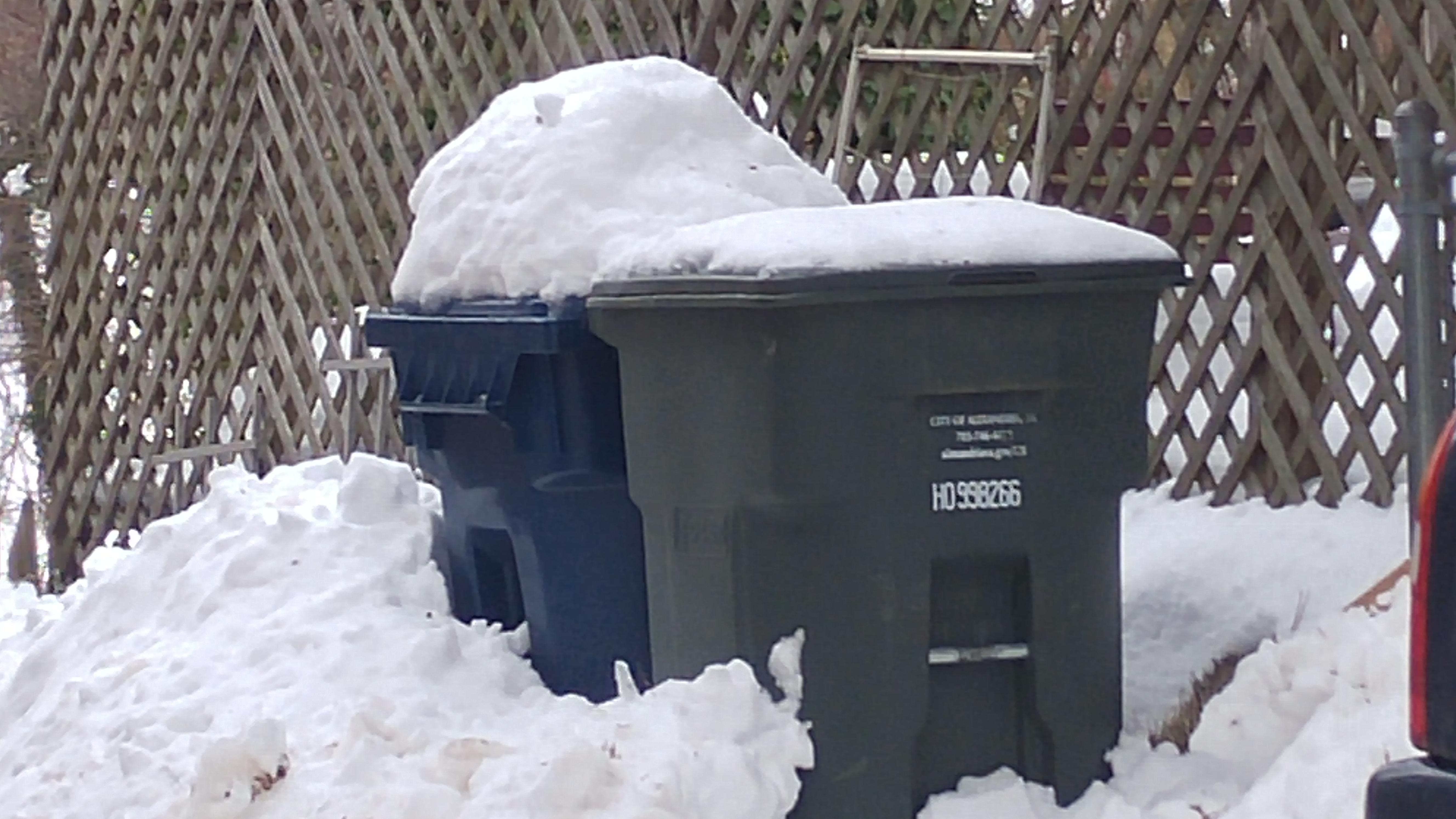 D.C. announces revised trash-pickup schedule