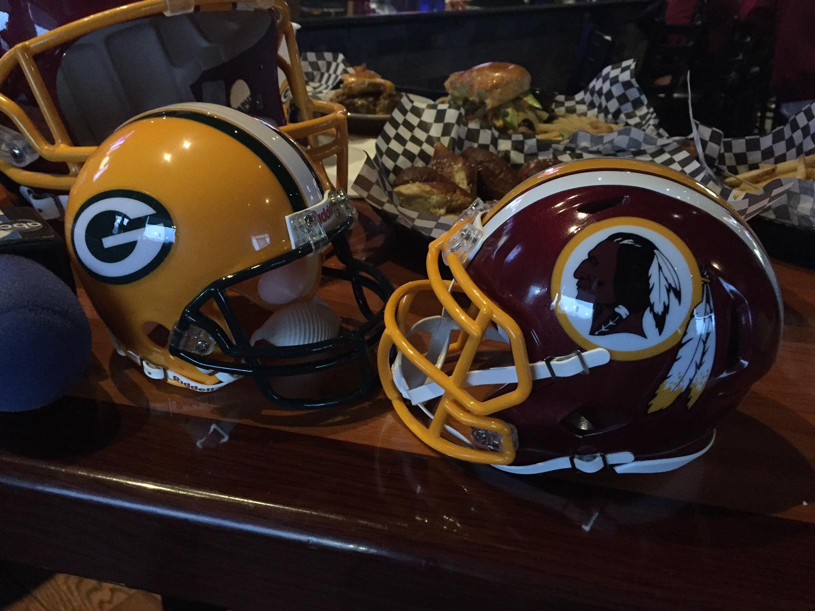 Big Redskins-Packers game equals big screens, big food and drink specials