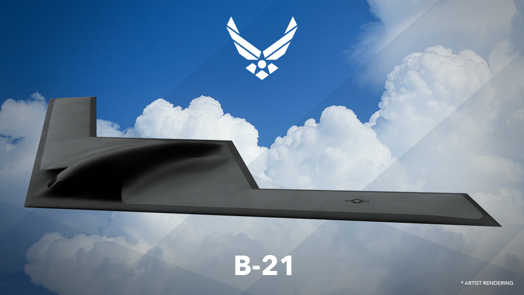 Air Force pilots can help name its newest bomber