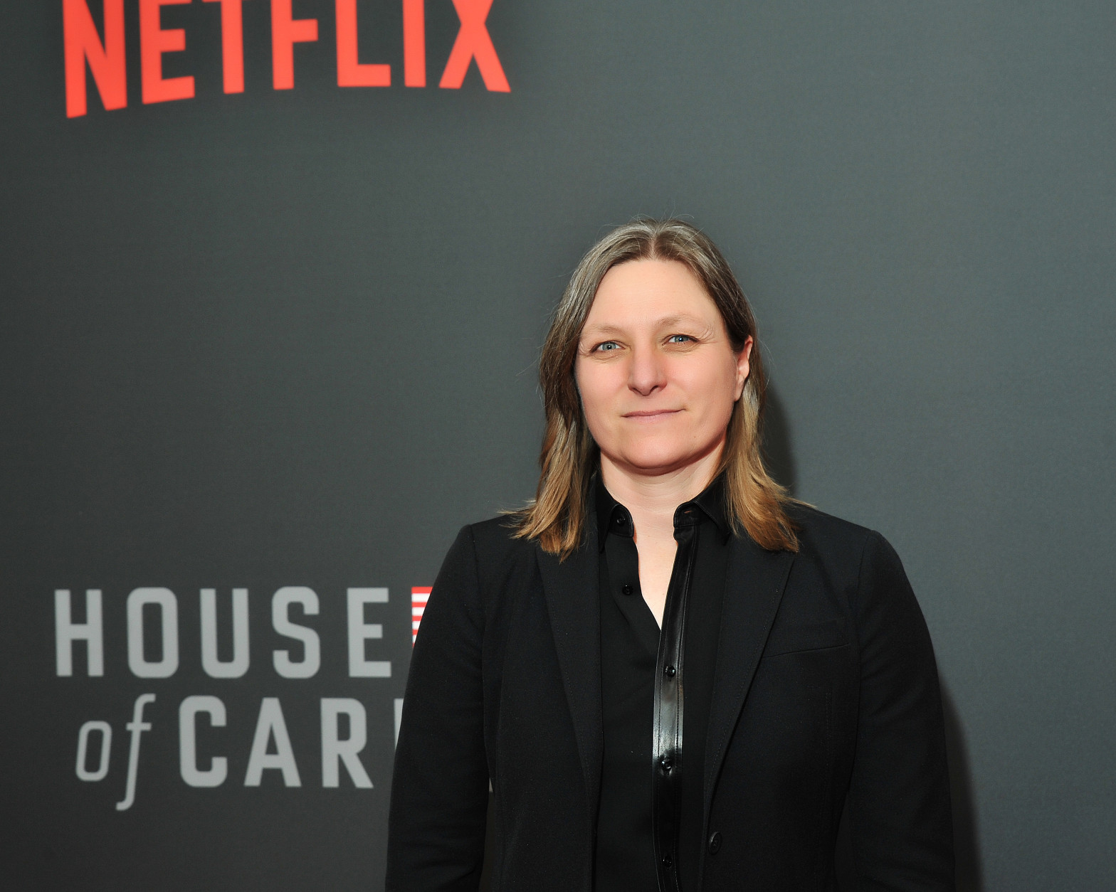 "Cindy Holland, Netflix VP of Original Content, attends the ""House of Cards"" Season 4 premiere.  (Courtesy Shannon Finney, www.shannonfinneyphotography.com)"