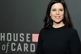 Neve Campbell on the red carpet at the National Portrait Gallery in D.C. on Feb. 22, 2016.  (Courtesy Shannon Finney, www.shannonfinneyphotography.com)