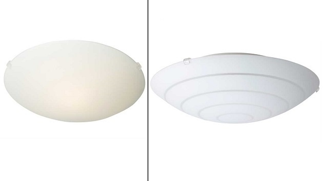 IKEA Recalls 840,000 Ceiling Lamps over Laceration Risk