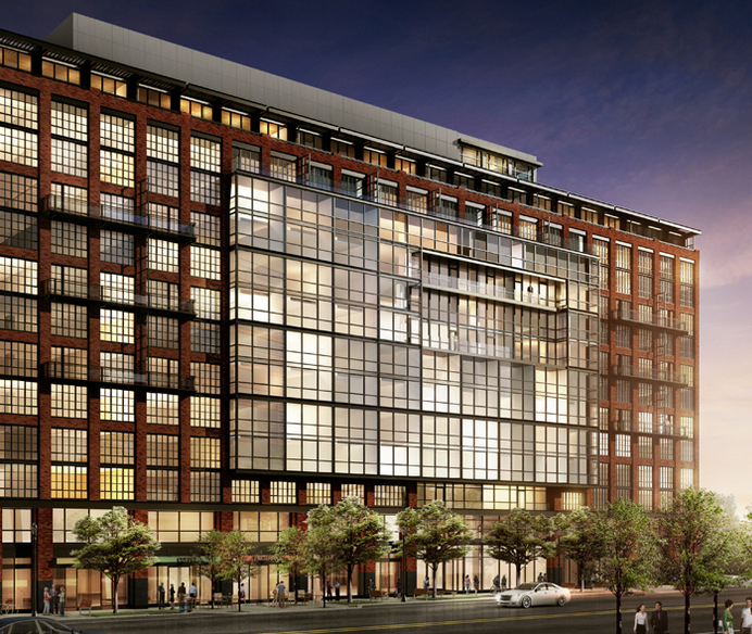 Apartment building with rooftop resort coming to NoMa