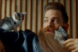 """This photo provided by AXE shows a still from the company's """"Find Your Magic"""" Super Bowl 50 ad. (AXE via AP)"""