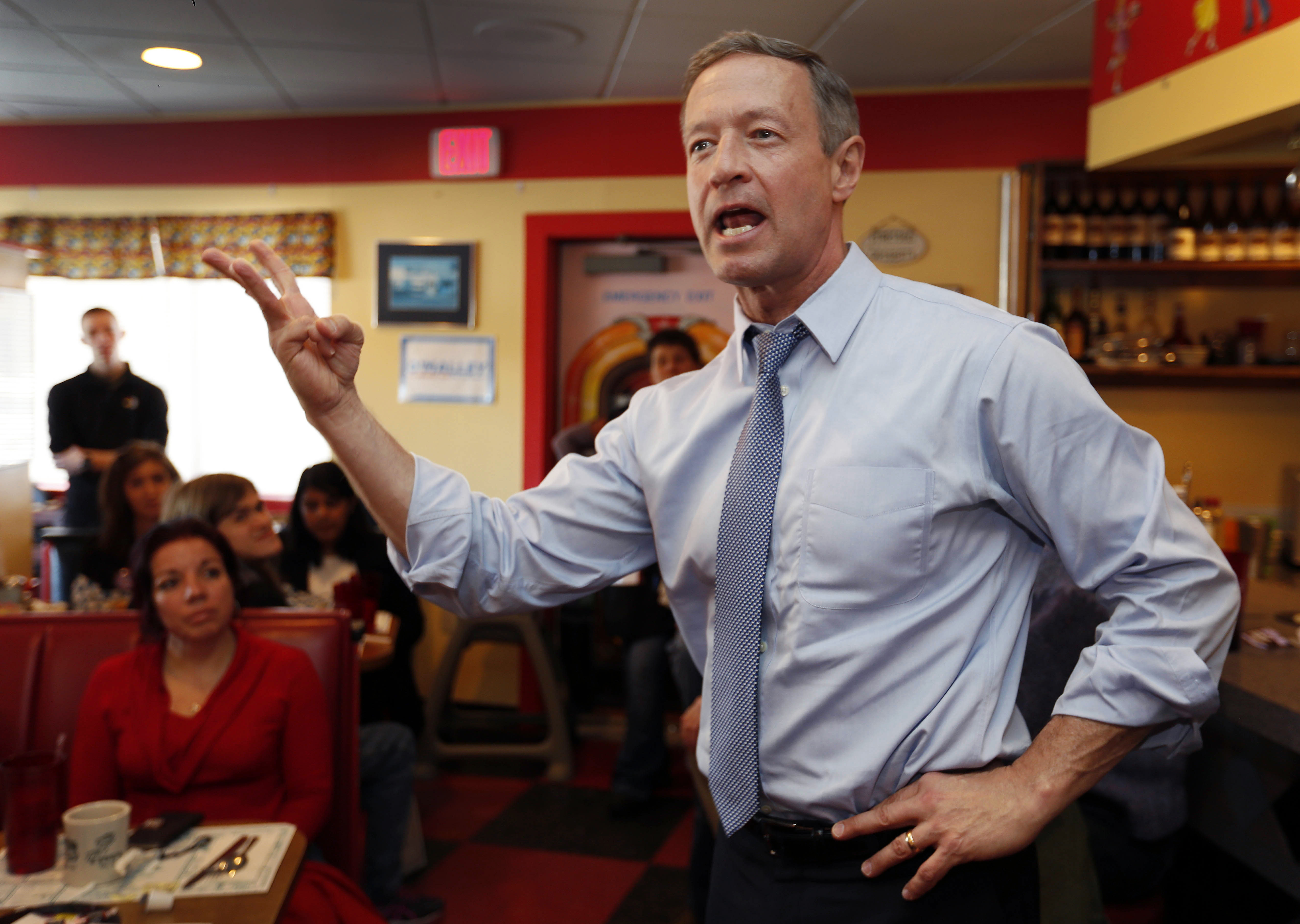 O'Malley: Voters want to hear more about issues than Trump