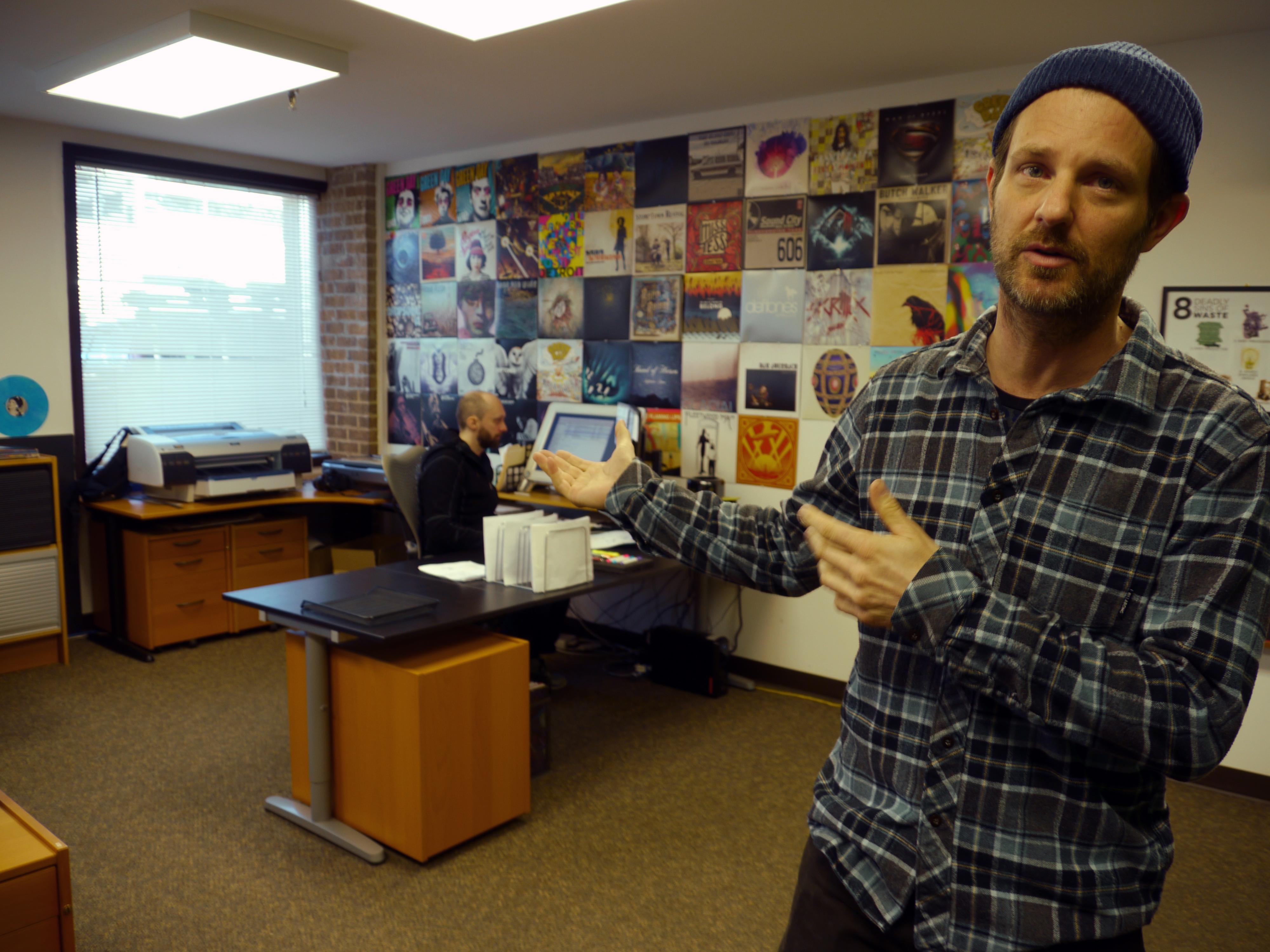 Behind the scenes: Pressing vinyl records in Fairfax (Photos)