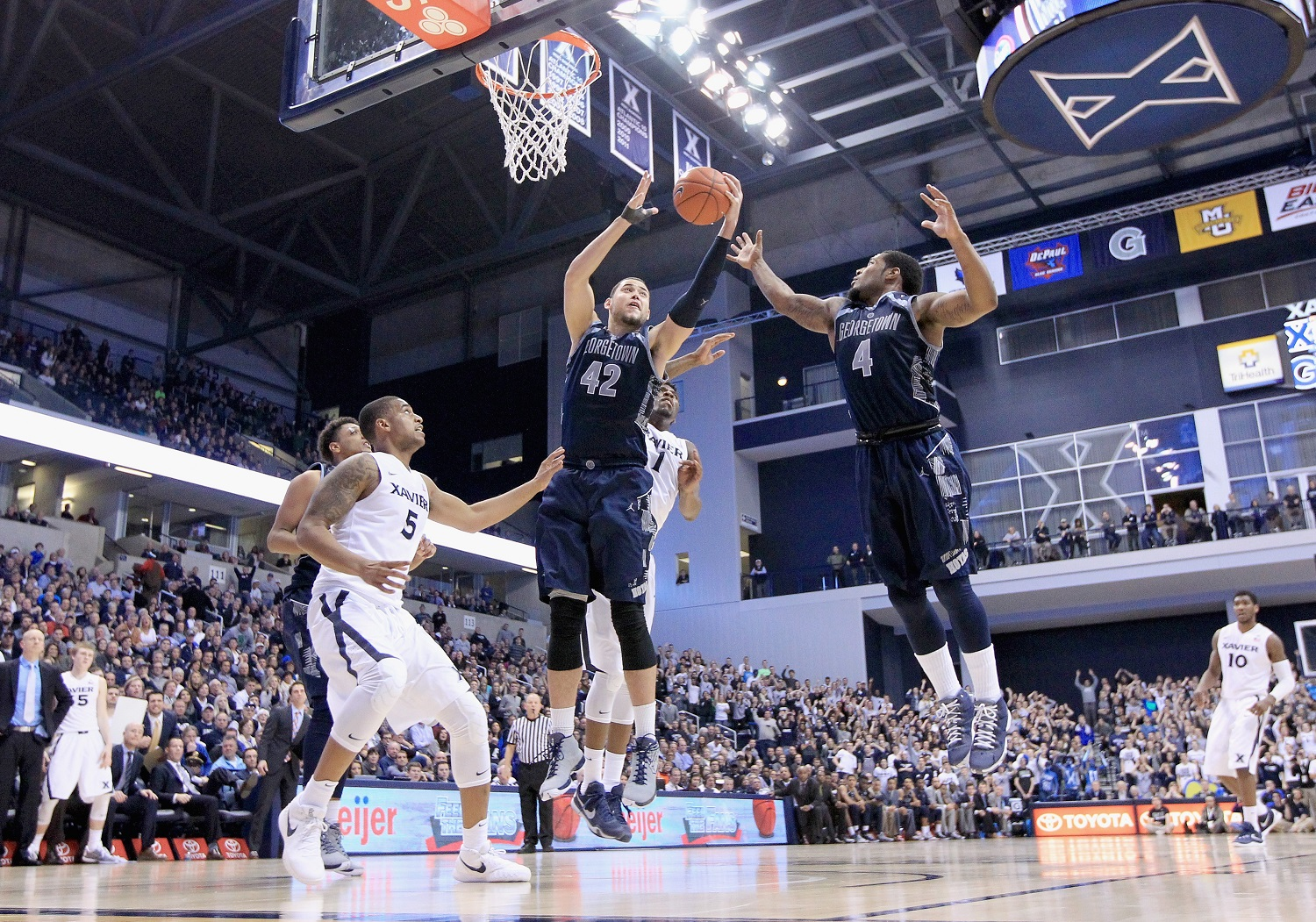 Basketball Around the Beltway: Bubble, bubble, which teams are in trouble?