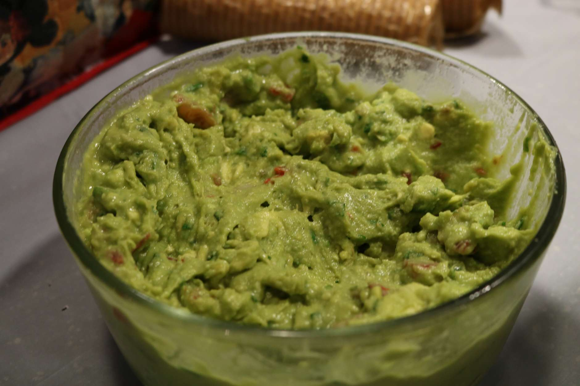 Super Guac for the Super Bowl, courtesy of Mitchell Miller. (WTOP/Hanna Choi)