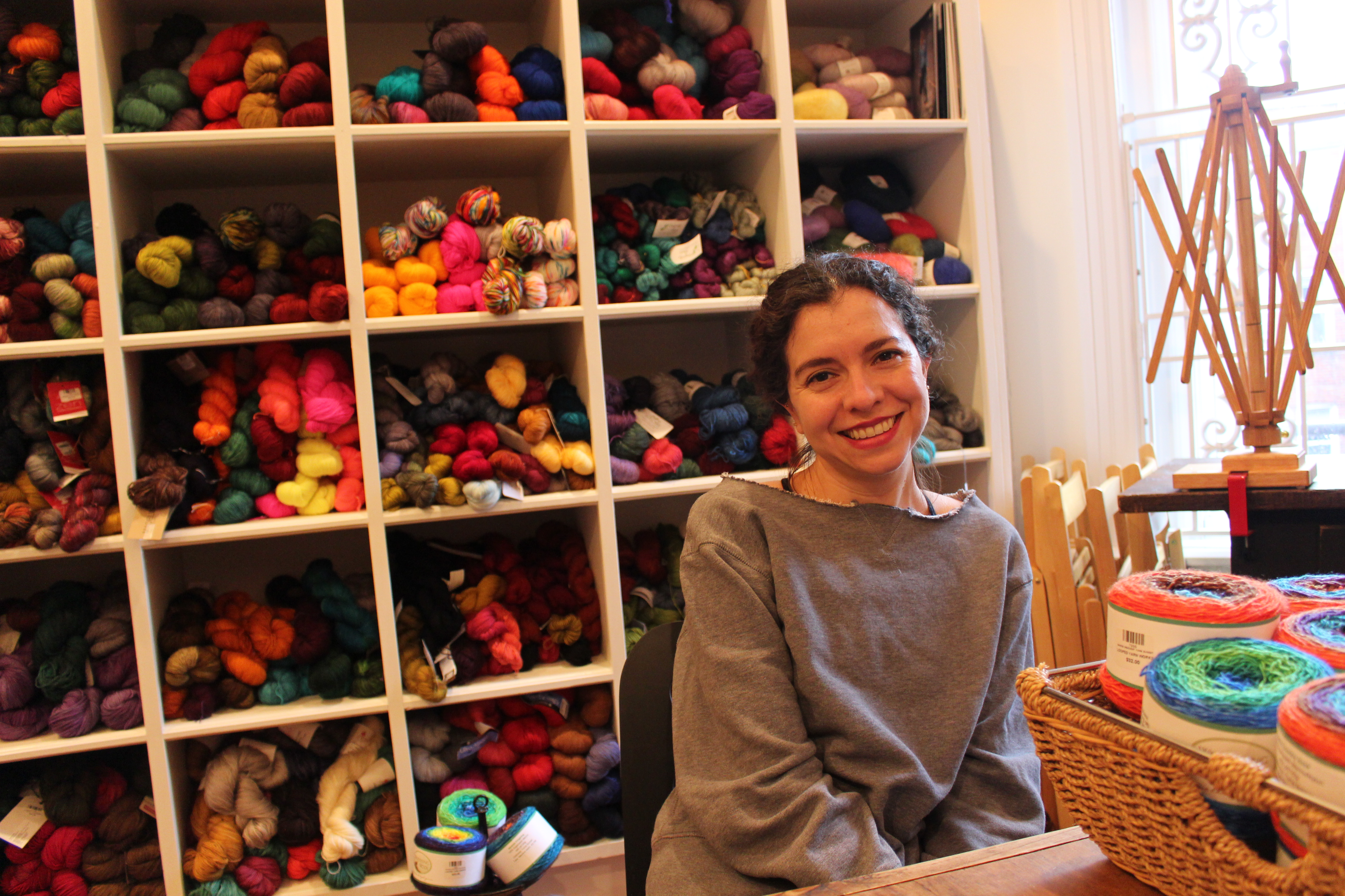 Not your grandma's knitwear: Make things you can use, and feel good doing it