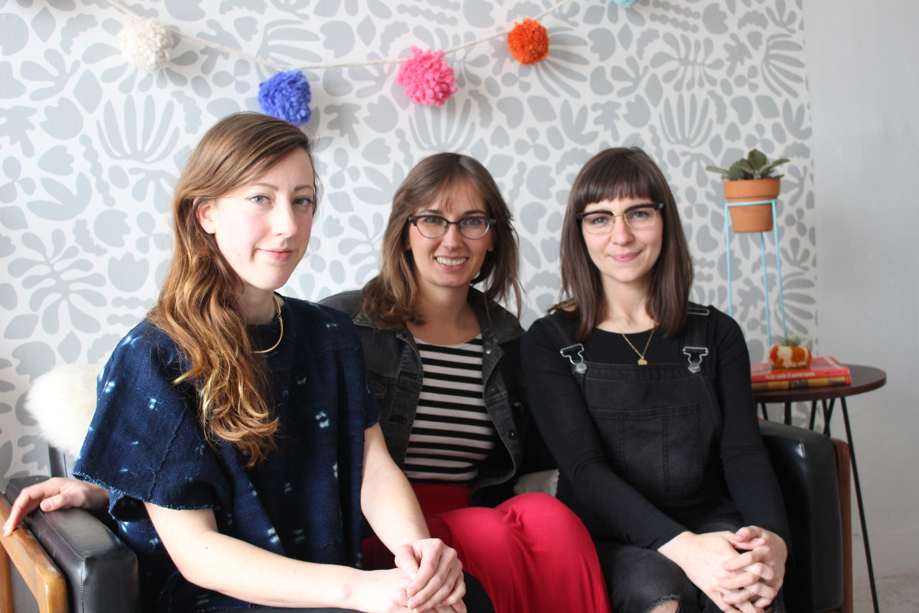 If you're pinning pictures of cute craft tutorials on pinterest but you can't seem to get started on them yourself, the ladies of The Lemon Bowl are here to help. Holley Simmons, Linny Giffen and Katheryn Zaremba are three local artists that took their hobbies and turned them into a business. (WTOP/Dana Gooley)