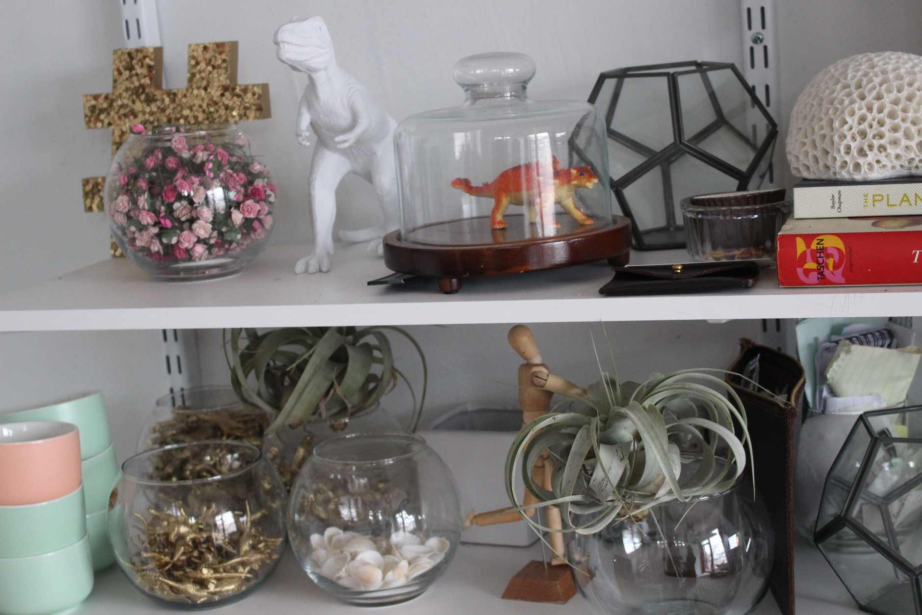 For would-be DIYers that may be intimidated by the beautiful finished products found on Instagram, Tumblr and Pinterest, Giffen says crafters of all skill levels are welcome and encouraged to experiment. (WTOP/Dana Gooley)