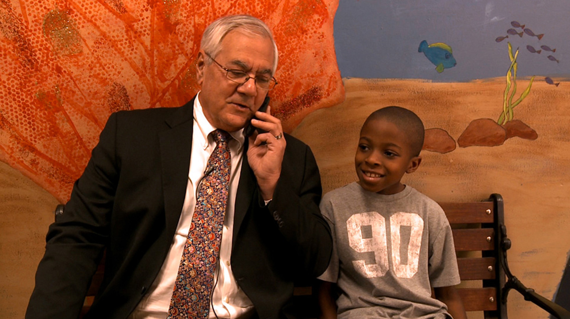 """A still from """"Compared to What: The Improbable Journey of Barney Frank."""" (Courtesy Washington Jewish Film Festival)"""