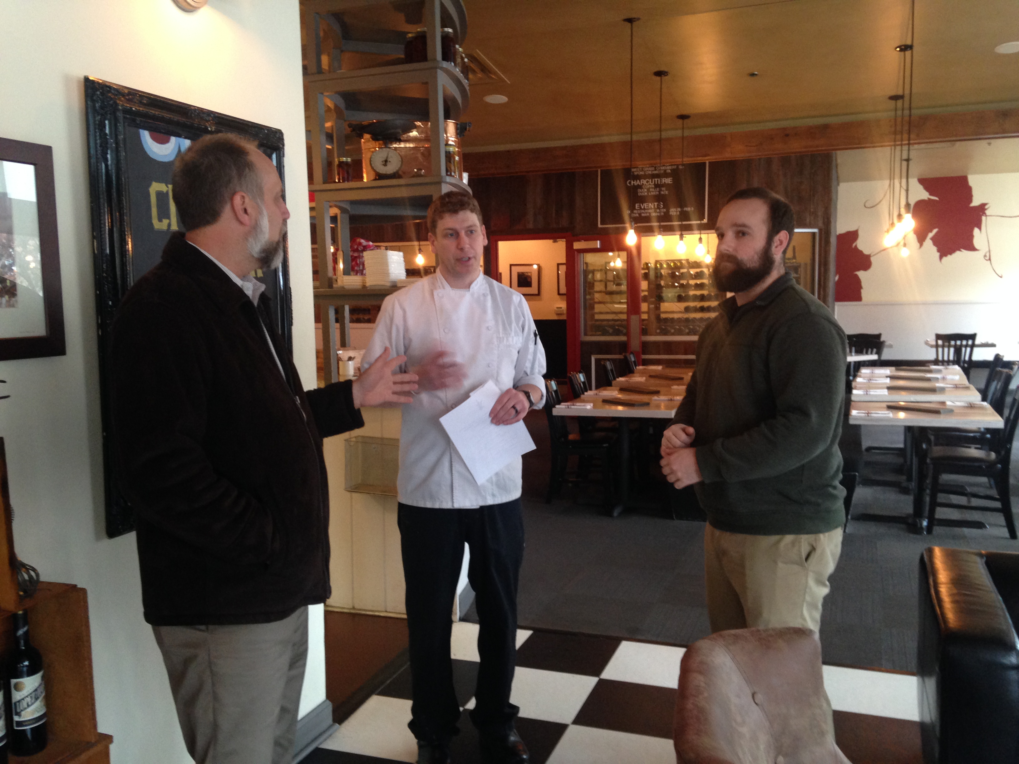 For Civil War menu, local chef inspired by unlikely muse: hospital food