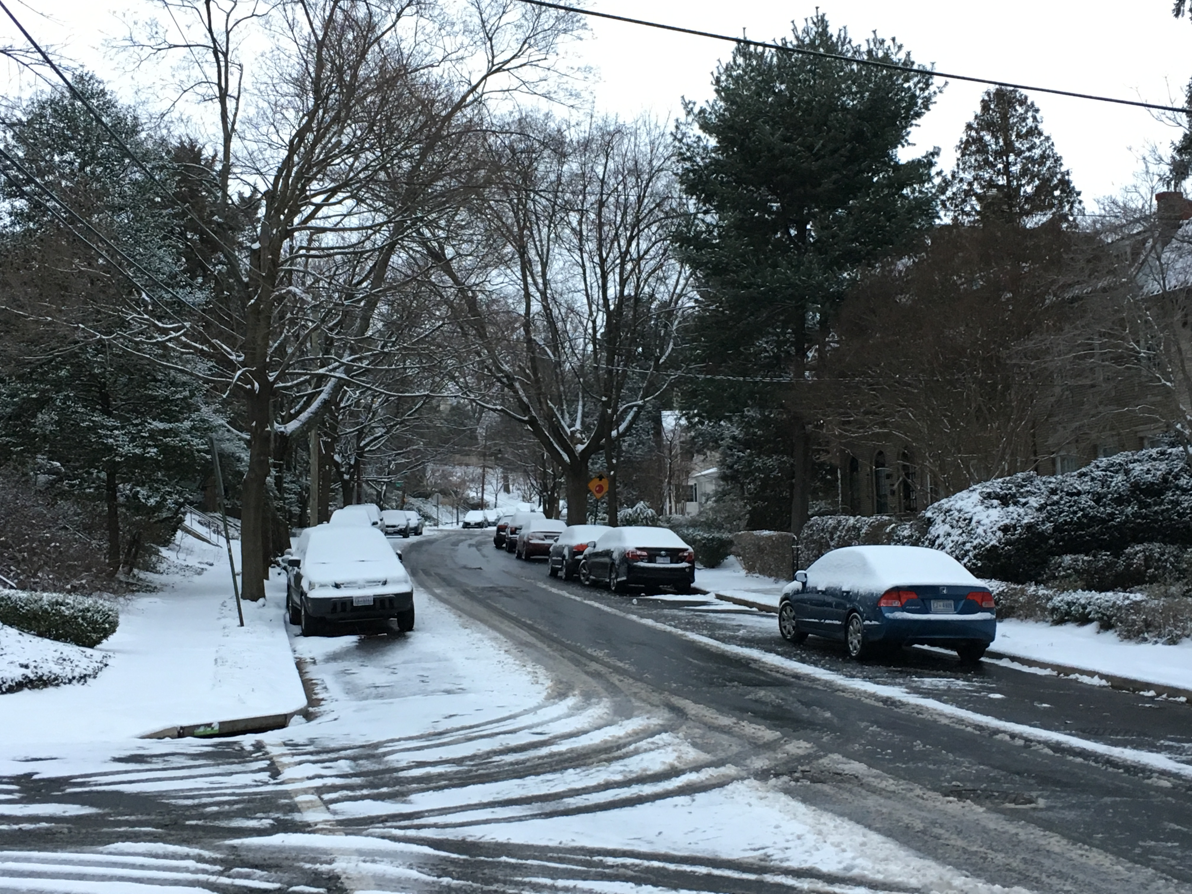 Ice will replace snow on area roads in afternoon, evening