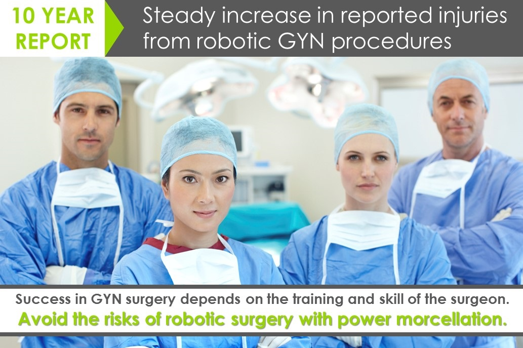 Robotic GYN surgery complications: Tools cannot replace skill