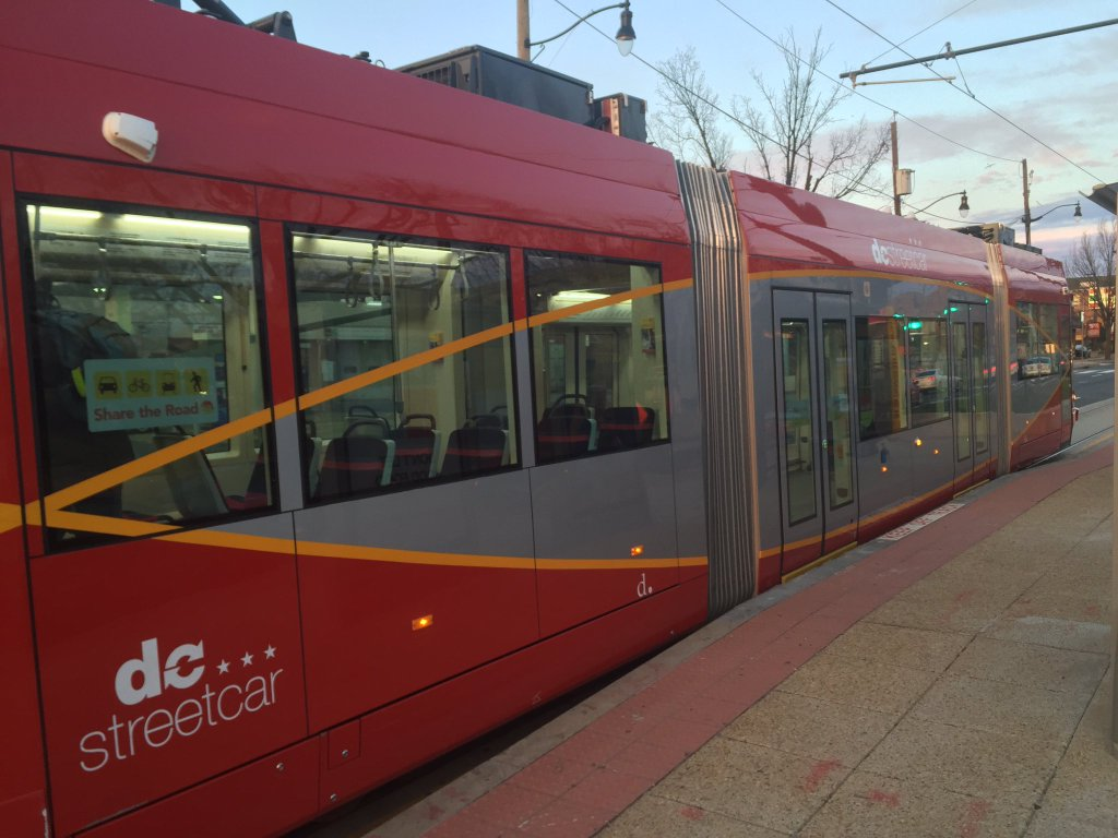 Day One: Commuting on the D.C. streetcar