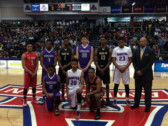 DeMatha, St. John's fight for high school hoops bragging rights