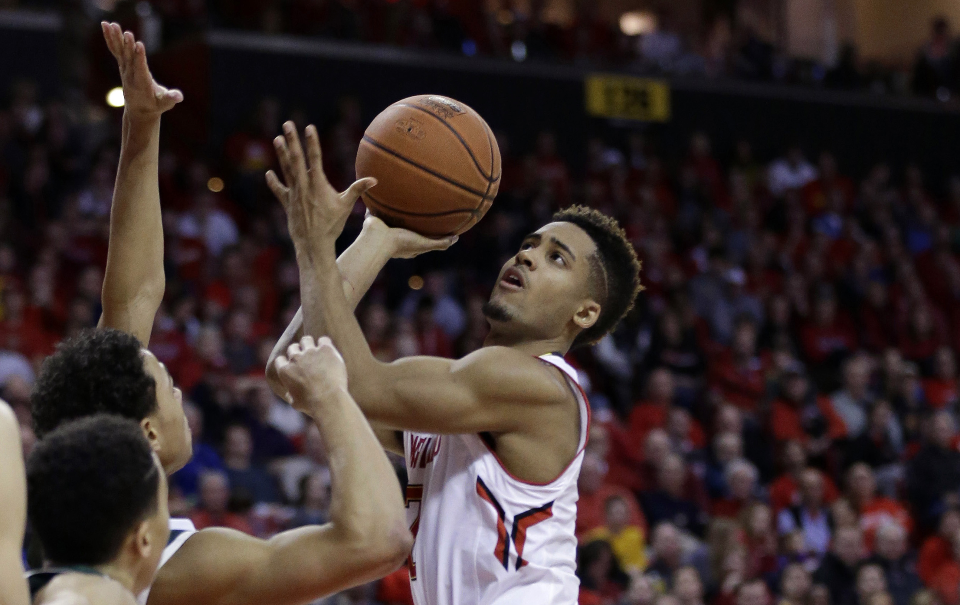 Terps' Trimble withdraws from NBA draft, will return to UMd.