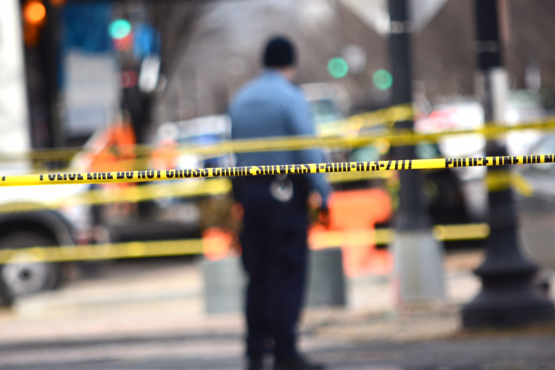 FILE -- Police tape is seen around a crime scene in D.C. (WTOP/Dave Dildine, File)