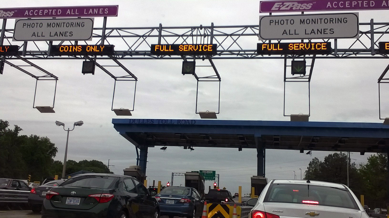 Woman faces $81K Dulles toll bill