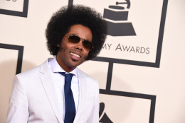 Alex Cuba arrives at the 58th annual Grammy Awards at the Staples Center on Monday, Feb. 15, 2016, in Los Angeles. (Photo by Jordan Strauss/Invision/AP)