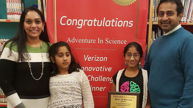 Girl creates app inspired by sister on autism spectrum