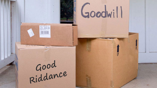 Goodwill encourages people to 'Donate Your Ex's Stuff' this Valentine's Day