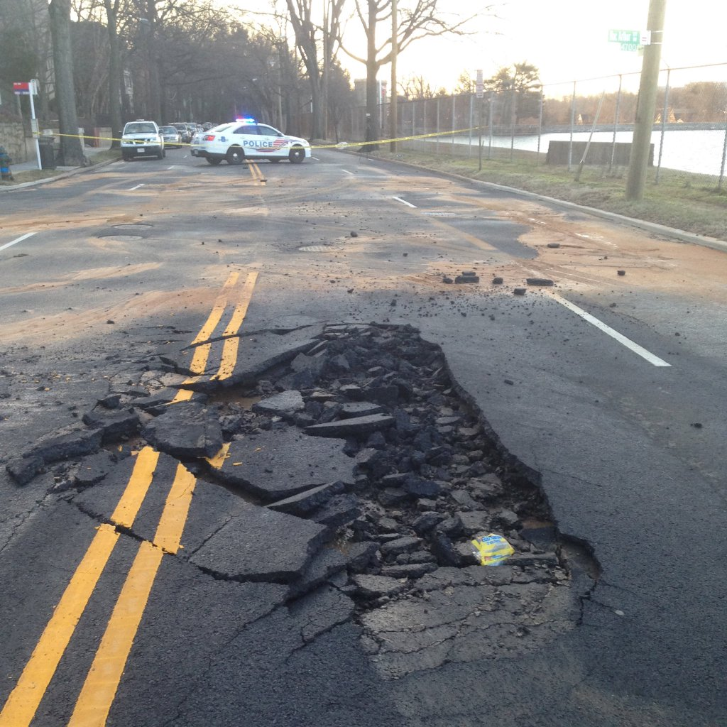 MacArthur Boulevard reopens