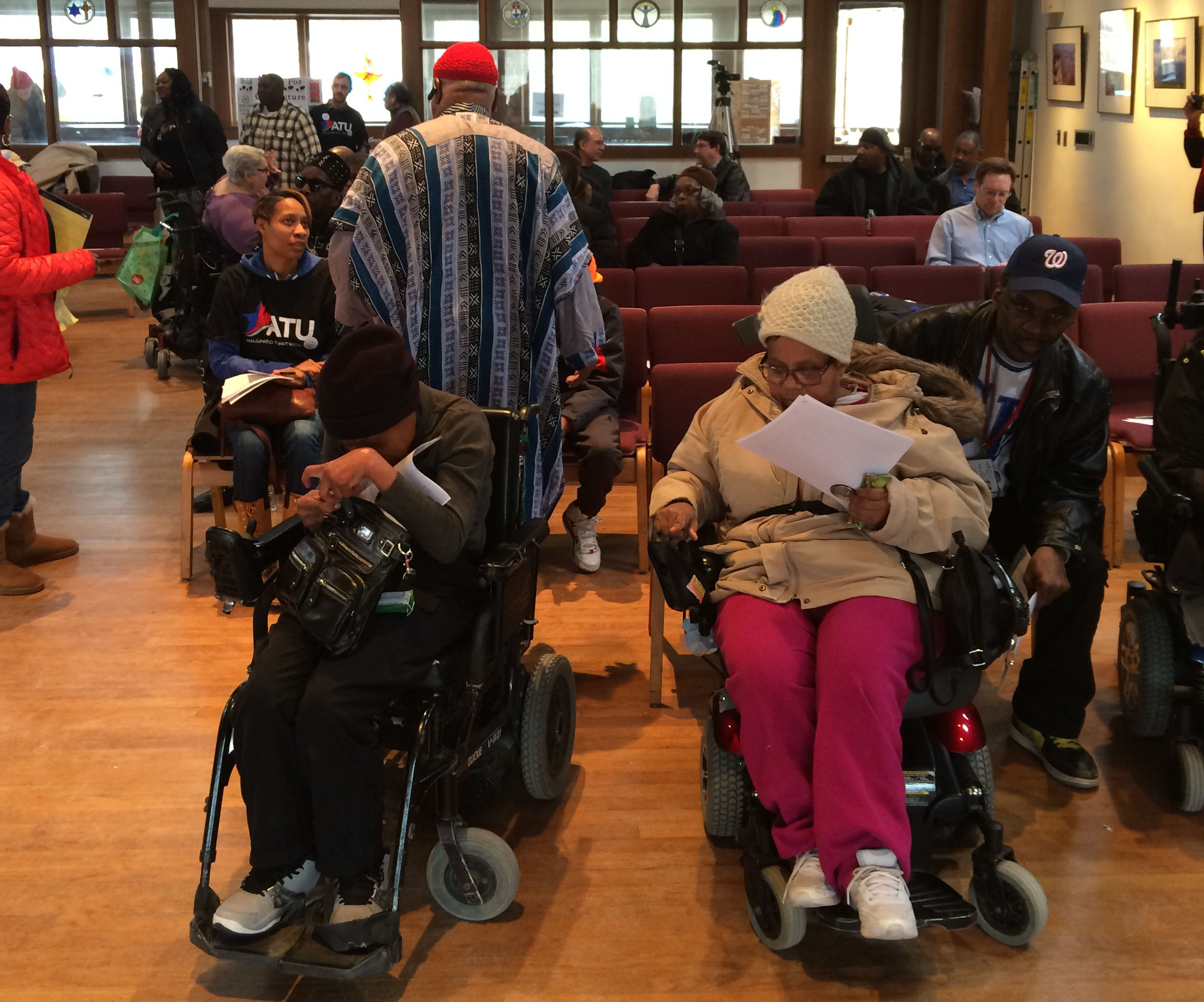 MetroAccess riders, drivers join forces to voice their complaints