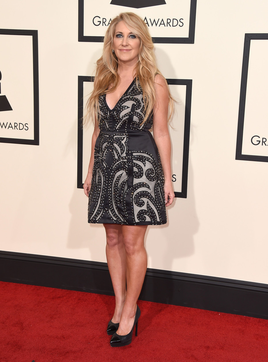 Lee Ann Womack arrives at the 58th annual Grammy Awards at the Staples Center on Monday, Feb. 15, 2016, in Los Angeles. (Photo by Jordan Strauss/Invision/AP)