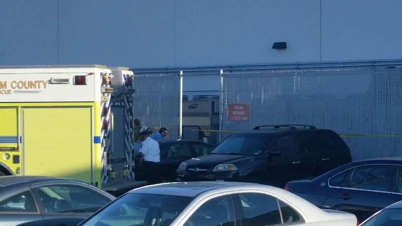 Emergency crews transported the injured people to area hospitals. (WTOP/Kathy Stewart)