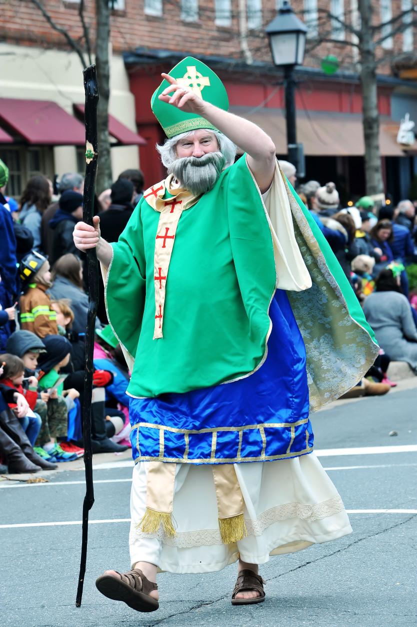 "It's ""Saint Patrick"". (Photo Shannon Finney/Shannon Finney Photography)"