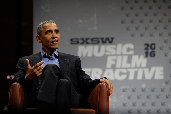 Obama takes Austin by storm – and surprise – in first-ever presidential appearance at SXSW