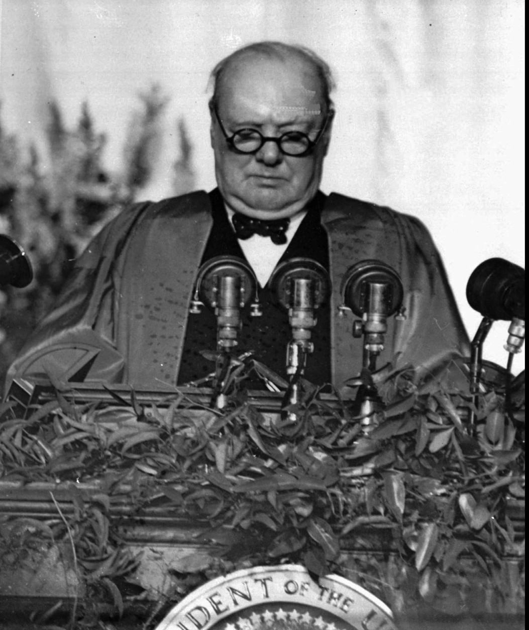"""On June 18, 1940, with the World War II Battle of Britain looming, British Prime Minister Winston Churchill urged his countrymen to conduct themselves so that future generations would say, """"this was their finest hour."""" (AP Photo)"""