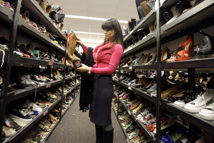 b37baf58f7d Nordstrom Rack is known for its deeply discounted clothing and shoes. (AP  Photo Nam Y. Huh)
