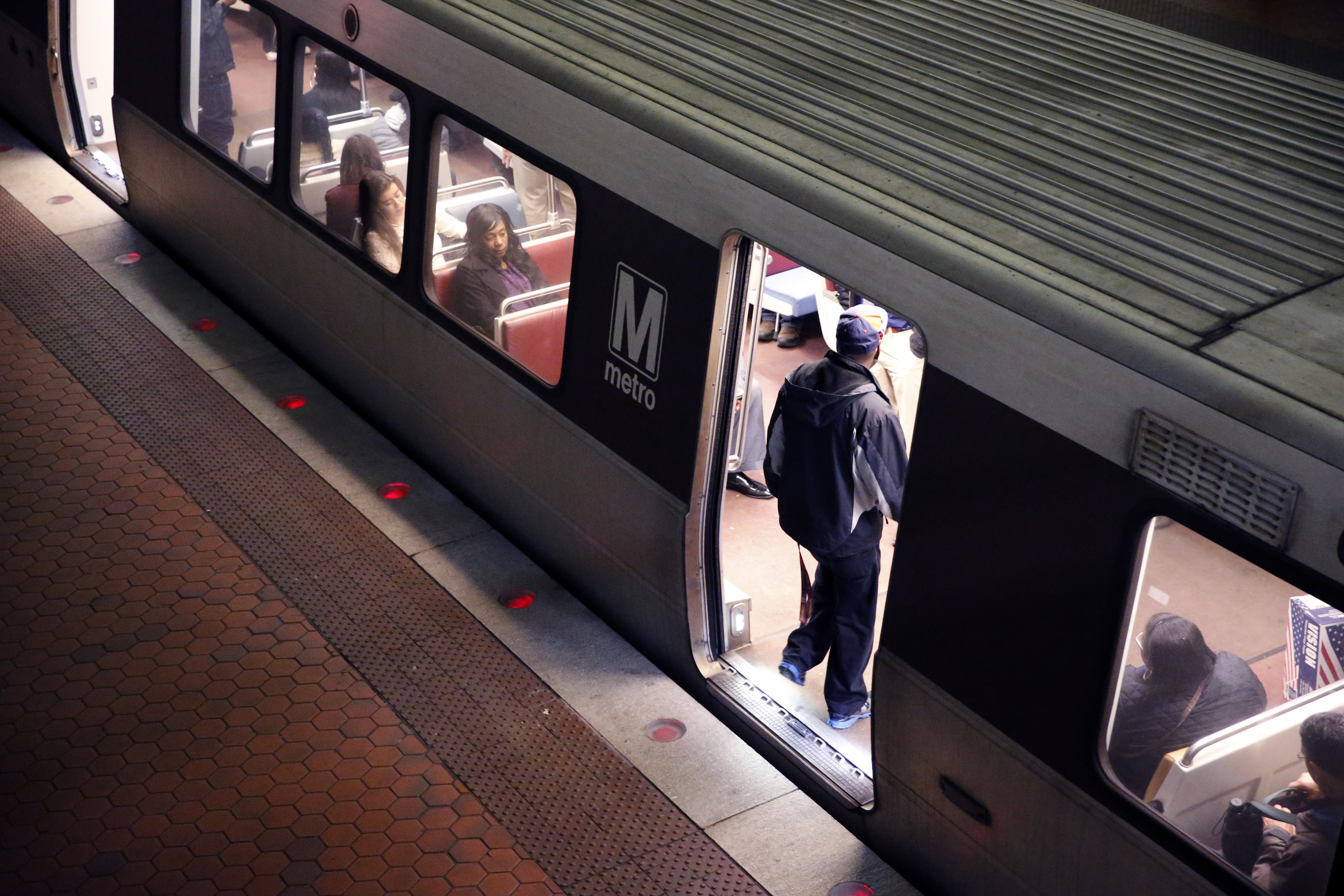 Metro riders say they didn't see more police Tuesday morning