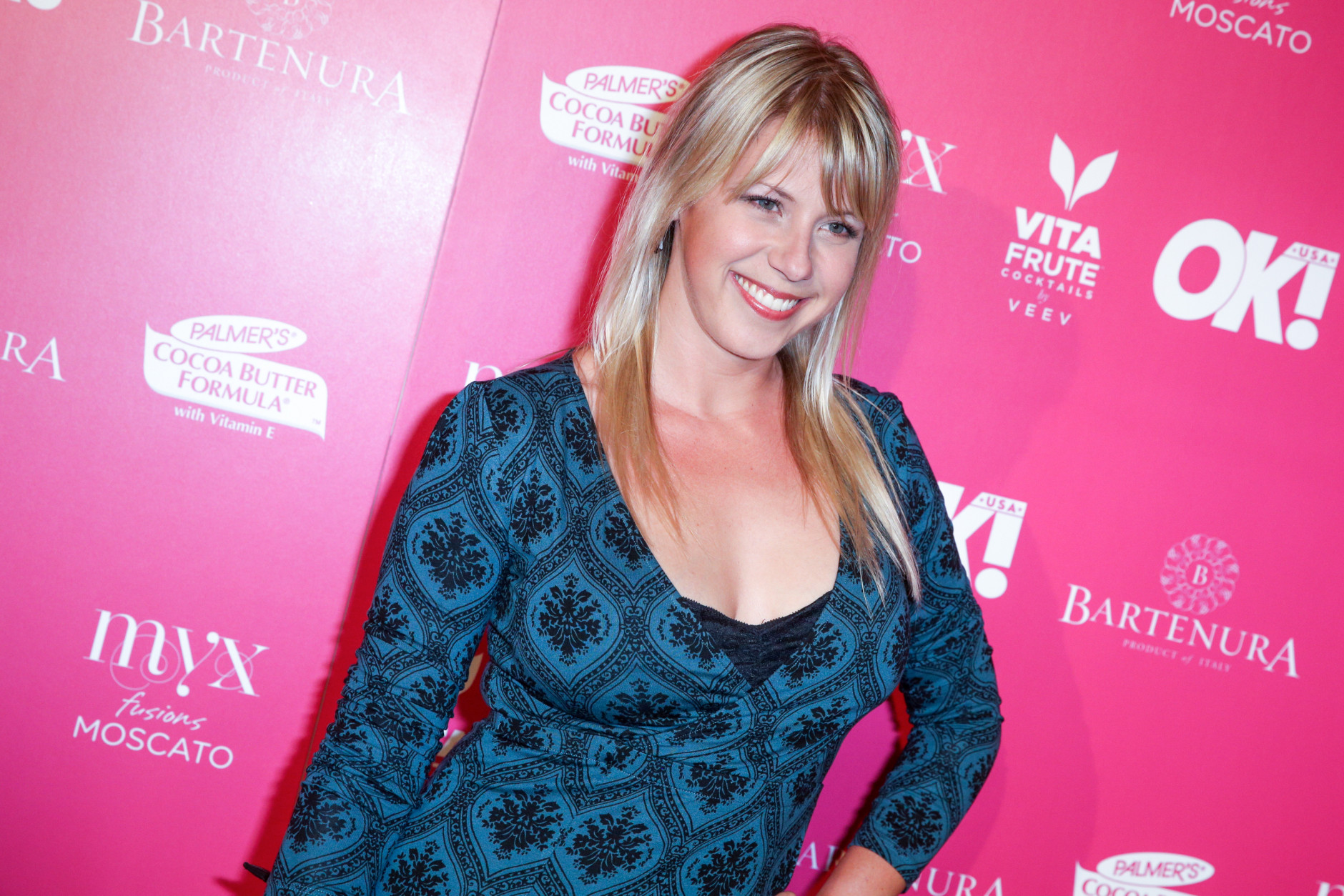 Jodie Sweetin arrives at the So Sexy LA Event at SKYBAR at the Mondrian on Thursday, May 21, 2015, in Los Angeles. (Photo by Rich Fury/Invision/AP)