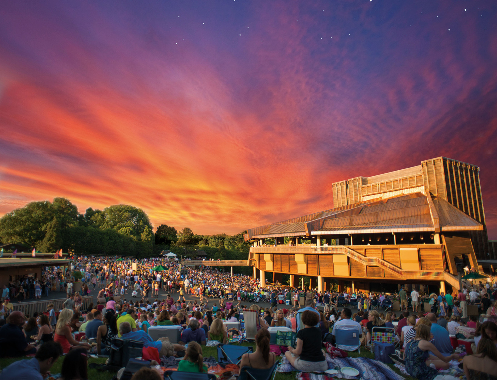 Filene Center at Wolf Trap National Park for the Performing Arts.  (PRNewsFoto/Wolf Trap Foundation for the Performing Arts) THIS CONTENT IS PROVIDED BY PRNewsfoto and is for EDITORIAL USE ONLY**