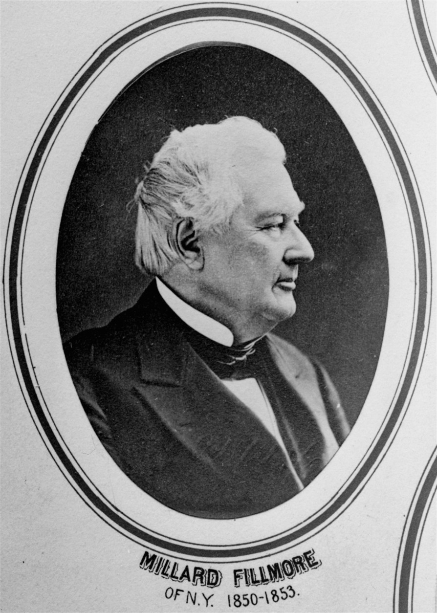 Millard Fillmore of the Whig party, 13th U.S. president, 1850-53.  (AP Photo)