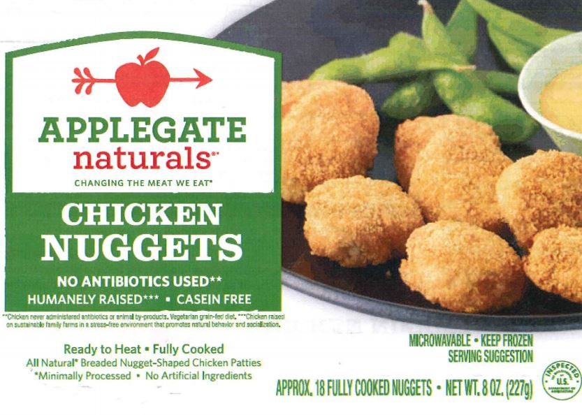Applegate Chicken Nuggets recalled for possible contamination