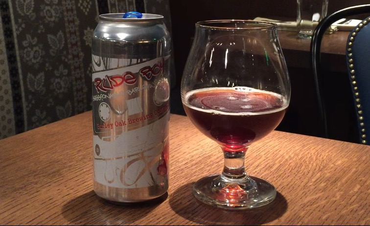 This Burley red ale uses eight different malts to create complexity with hints of burnt sugar, raisin and a slight touch of smoke. (WTOP/Brennan Haselton)