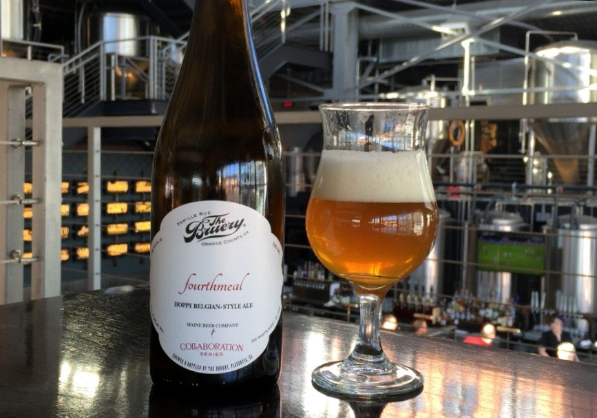 Fourthmeal, a collaboration between The Bruery and Maine Beer Co., is the perfect springtime beer. (WTOP/Brennan Haselton)